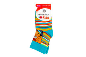 БЧК Шкарпетки дитячі 3081, р.13-14, 449 ізумруд 1 шт
