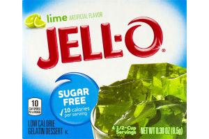 Jell-O Gelatin Dessert Sugar Free Lime