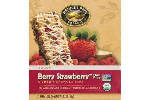 Nature's Path Organic Yogurt Berry Strawberry Granola Bars - 5 CT