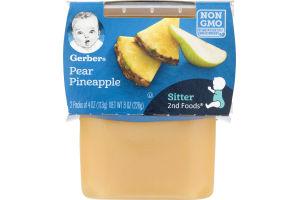 Gerber Pear Pineapple 2nd Foods