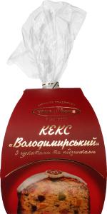 Кекс Владимирский уп Киевхлеб 300г