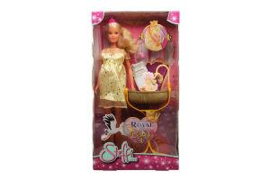 Лялька для дітей від 3-х років №7084 Royal Baby Steffi love Simba 1шт