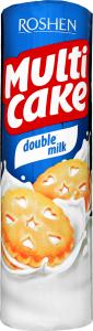 Печиво Roshen Мульті-Кейк Double milk 170г х35