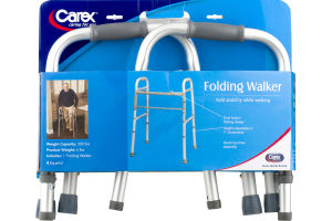Carex Folding Walker