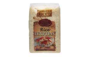 Рис круглозернистый Египетский World's Rice м/у 500г