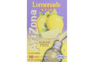Arizona Lemonade Stix Sugar Free - 10 CT