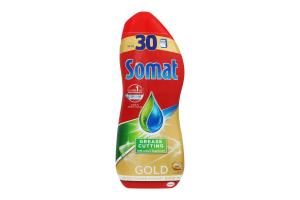 Гель для миття посуду в посудомийній машині Gold Somat 540мл