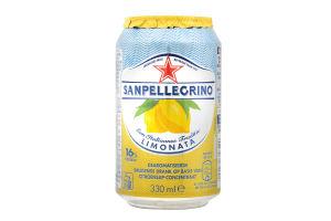 Напій Sanpellegrino Limonata 330 мл ж/б