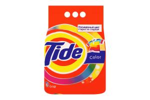Порошок стиральный автомат Color Tide 2.4кг