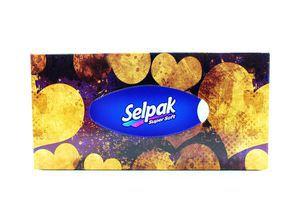 Серветки Selpak гігієнічні 100шт (коробка) х24