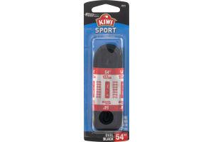 "Kiwi Sport Laces Oval Black 54"" - 1 PR"