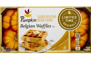 Ahold Belgian Waffles Maple - 6 CT