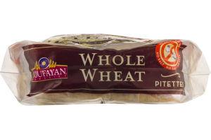 Toufayan Bakeries Pitettes Pita Bread Whole Wheat - 8 CT