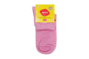 Шкарпетки жіночі Marca №M201L 21-23 рожевий