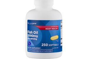 CareOne Fish Oil 2000mg Softgels - 250 CT