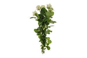 Роза срез 50см Аваланж А-Ф 5шт