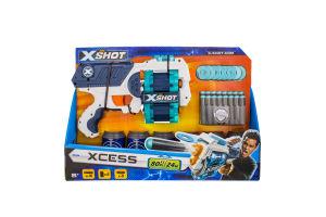 Бластер для дітей від 8 років швидкострільний №3622 Xcess X-Shot Zuru 1шт