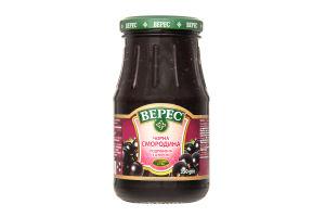 Смородина черная измельченная с сахаром Верес с/б 350г