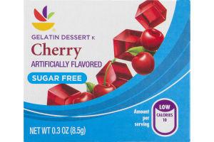 Ahold Gelatin Dessert Cherry Sugar Free