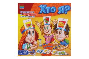 Гра настільна для дітей 6років №JT007-74 Хто я? Kingso Toys 1шт