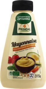 Майонез Primeal органічний 315г х4