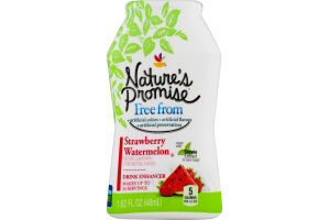 Nature's Promise Drink Enhancer Strawberry Watermelon