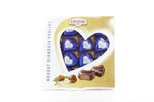 Набор шоколадных конфет сливки, миндаль, фундук Erasmi 200г