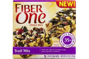 Fiber One Chewy Bars Trail Mix - 5 CTa