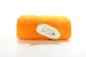 Полотенце махровое Orange Good for Life 100*150