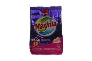 Порошок пральний Sano maxima sensitive 1.25кг х12