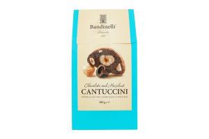 Печиво з шоколадом та фундуком Bandinelli Кантучіні м/у 100г