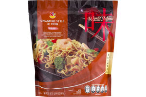 Ahold World Menu Chinese Singapore Style Lo Mein Shrimp