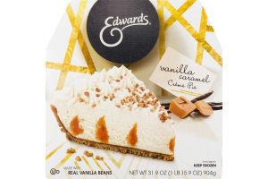 Edwards Vanilla Caramel Creme Pie