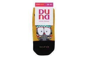 Шкарпетки жіночі Duna №3129 23-25 жовтий