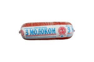 Колбаса вареная Оригинальная с молоком М'ясна Ліга кг