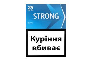 Сигареты с фильтром Blue Strong 25шт