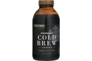 Starbucks Cold Brew Coffee Black Unsweetened