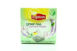 Чай Jasmine Petals зеленый с/я Lipton ф/п пирамидка 20*1,7г