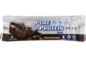 Pure Protein Plus Bar Mocha Brownie
