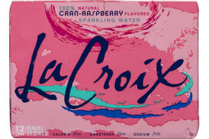 La Croix Sparkling Water Cran-Raspberry - 12 CT