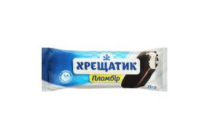 Мороженое 15% пломбир в кондитерской глазури Хрещатик м/у 75г