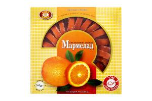 Мармелад Апельсиновые дольки Бісквіт Шоколад к/у 265г