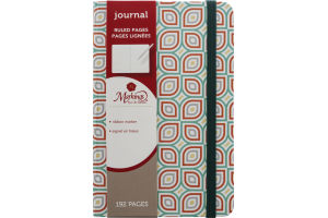 Markings Journal Ruled Pages Ribbon Marker - 192 Pages