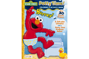 Sesame Street Coloring & Activity Book Potty Time!