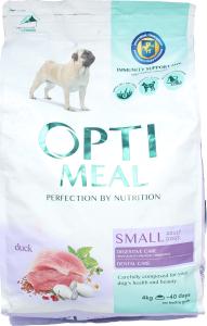 Корм для собак Optimeal малых пород утка сухой