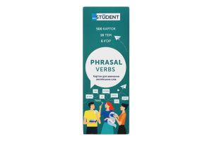Карточки для изучения английских слов Phrasal Verbs English Student 1шт