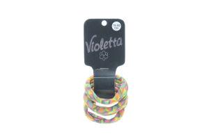 Резинка для волос №124170 Violetta 4шт
