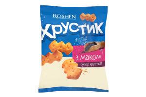 Крекер Хрустик с маком ККФ 180г /18шт
