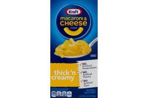 Kraft Macaroni & Cheese Thick 'n Creamy