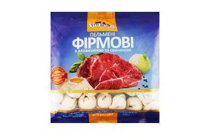 Пельмені фірмові яловичина/свинина с/м Три медведя м/у 450г
